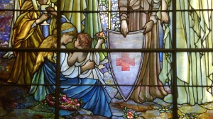 Detail of the Tiffany Windows