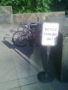 Bicycle Parking Only