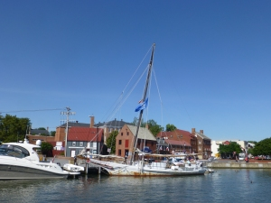 Skipjack at the Dock