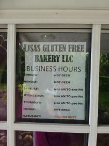 Lisa's Gluten Free Bakery